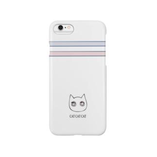 CAT CAT CAT iphoneケース スマートフォンケース