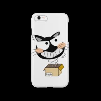 urajo Goodsのびっくり猫 Smartphone cases