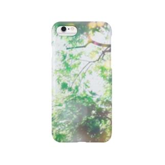 à feuille persistant (常緑) Smartphone cases