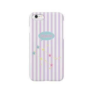スタースタッズ星座 双子座 Smartphone cases