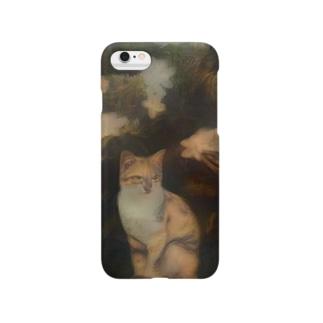 yoshica's design caféのねこ[スフマート] Smartphone cases