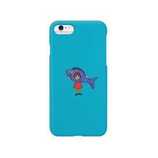 魚ちゃん Smartphone cases
