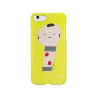 こけし Smartphone cases