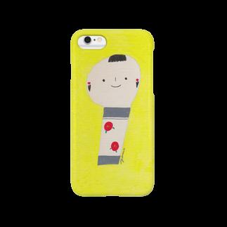ヤマムラ エツコのこけし Smartphone cases