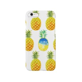 ぱいなっぷるSummer Smartphone cases