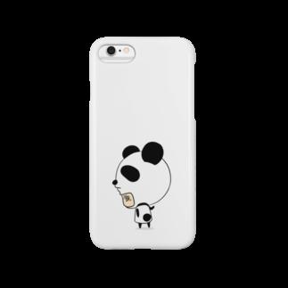 氷笠ケンジのお店の☆パンダさんは今日も寂しげ☆ Smartphone cases