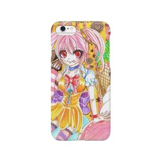 お菓子娘 Smartphone cases
