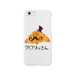クロワッさん Smartphone cases