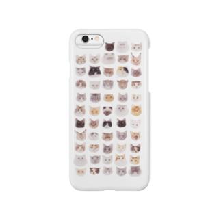 ねこねこ集会 Smartphone cases
