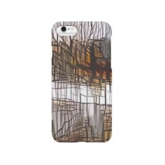 ガラス[ビル] Smartphone cases