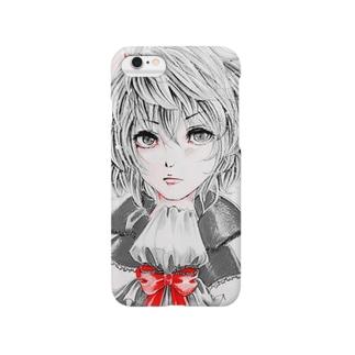 天パうさぎ モノクロ Smartphone cases