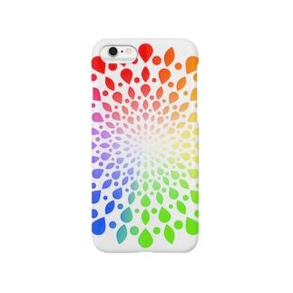 ひろがる虹のしずく Smartphone cases