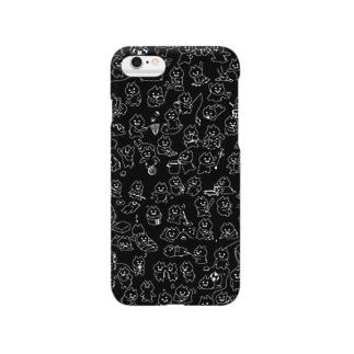 マエバサンたっぷりクロ Smartphone cases