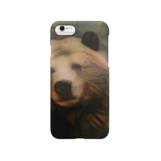 くま[哀愁] Smartphone cases