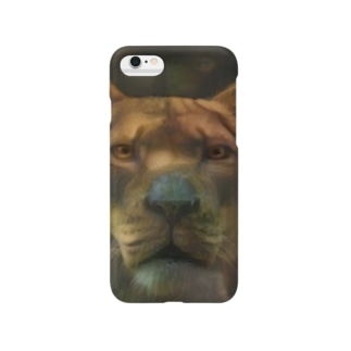 ライオン[威嚇] Smartphone cases