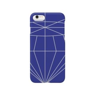 jewelruna dark blue スマートフォンケース