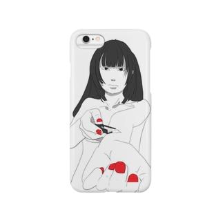 メンヘラ彼女 Smartphone cases