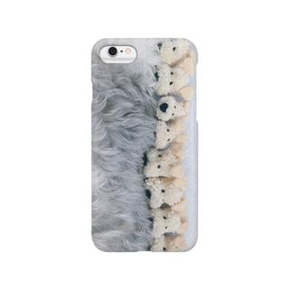 けんぴの背中(横)iphoneカバー Smartphone cases