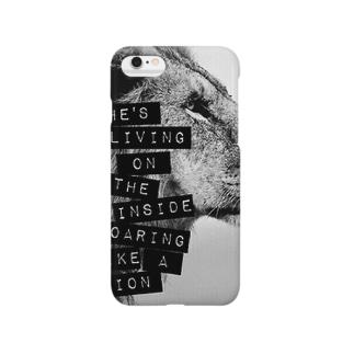 かっこいいライオン Smartphone cases