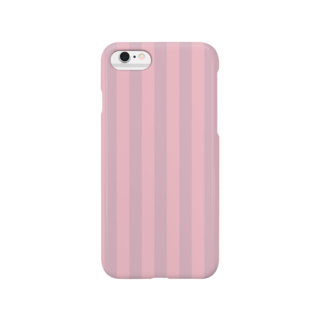 今井くんbot(概念)のしましま赤 Smartphone cases