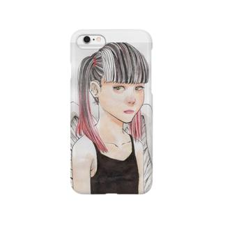 アナログ天使ちゃん Smartphone cases