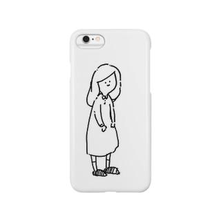 おんなの子 Smartphone cases