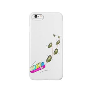 顔がヒー(本物のヒーのボブスレー) Smartphone cases