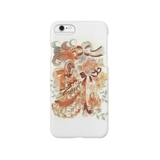 花束と乙女 Smartphone cases