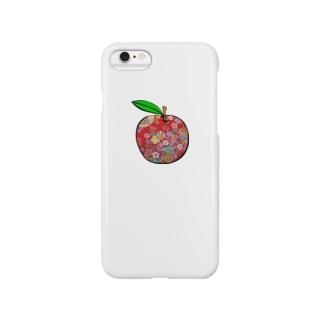 和柄リンゴ スマートフォンケース