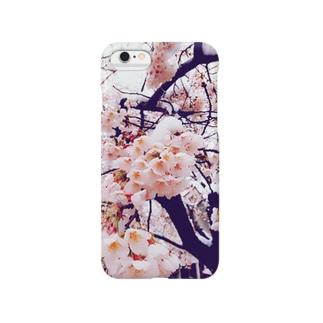 雪桜1 Smartphone cases
