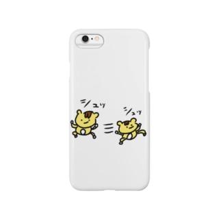 シュッL('ω')」三L('ω')」シュッ Smartphone cases