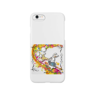 Rabbit on the rainbow Smartphone cases