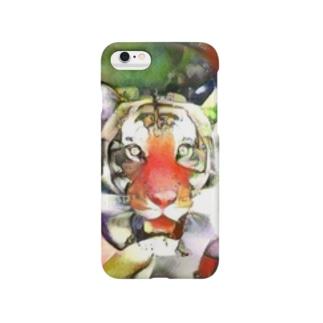 トラ[マスク] Smartphone cases