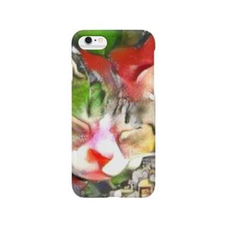 ネコ[ゆめかわいい] Smartphone cases
