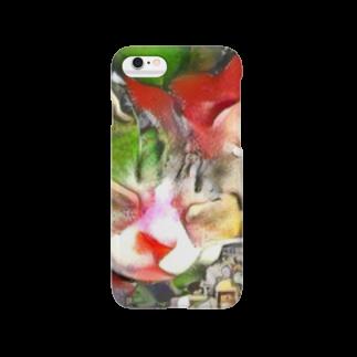yoshica's design caféのネコ[ゆめかわいい] Smartphone cases