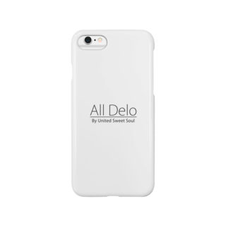 USS Official MerchのAll Delo Smartphone cases