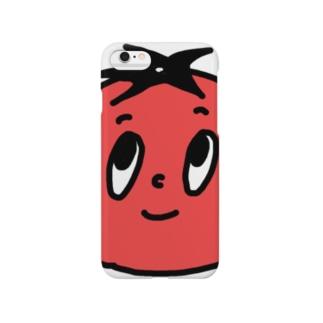 ミニトマトマンステッカー Smartphone cases