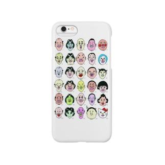 30顔面占い Smartphone cases