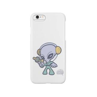 グレイタイプ・エイリアン Smartphone cases