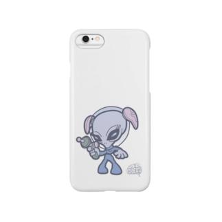 グレイタイプエイリアン Smartphone cases