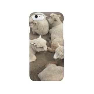 ひつじがわんさかふぉん Smartphone cases