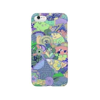 ツユドキカーニバル【カラー】 Smartphone cases
