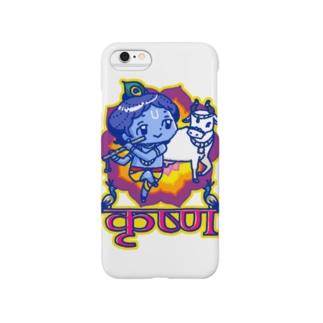 かわいいクリシュナ Smartphone cases