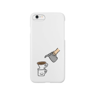 珈琲抽出 Smartphone cases