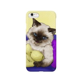 マダム❦ヒマラヤン Smartphone cases