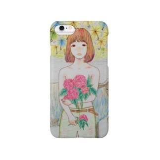 あじさいガール Smartphone cases