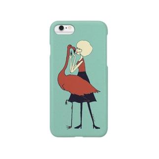あたしのかわいいフラミンゴ Smartphone cases