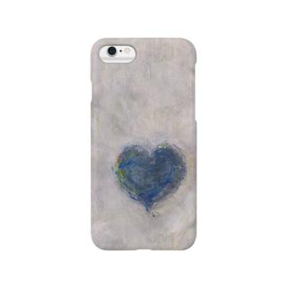 BLUE HEART スマートフォンケース