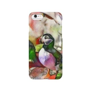 yoshica's design caféの鳥[スズメ] Smartphone cases