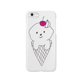 bichon cream Smartphone cases